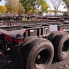 Intermodal trailers and domestic containers