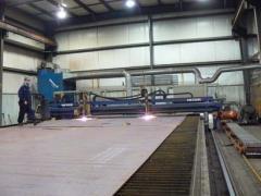 Custom Plasma/Oxy-Fuel Cutting