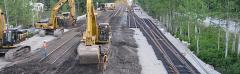 Construction & Rehabilitation railroads